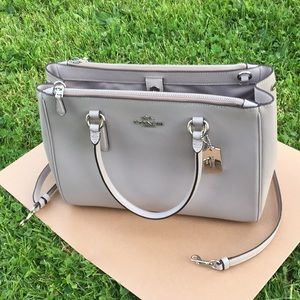 Coach Bags - Coach 🌹 surrey tote purse Crossbody shoulder bag